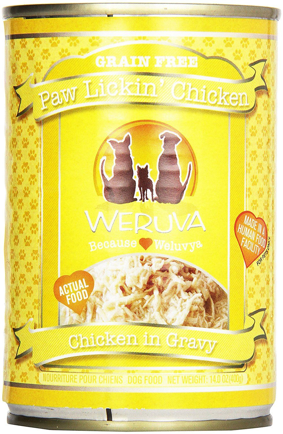 Weruva Canned Dog Food Paw Lickin Chicken In Gravy 14 Oz Read More At The Image Link This Is An Affiliate Link Dog Food Recipes Canned Dog Food Food