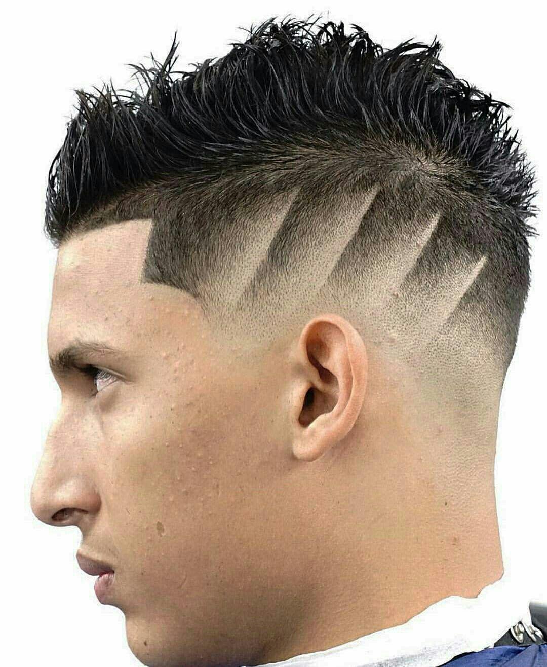 Line Design Haircut : design, haircut, Swift, Lineas, (lines), Projetos, Cabelo, Raspado,, Desenho, Masculino,, Barba