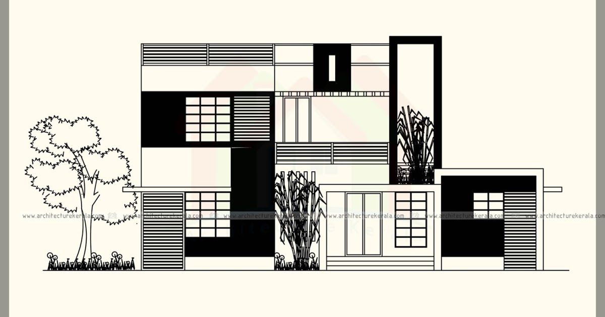 2200 sq ft modern style house plan with contemporary style ...