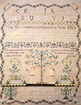 Mary Pierce-1770 :: Sampler Browse :: The Essamplaire