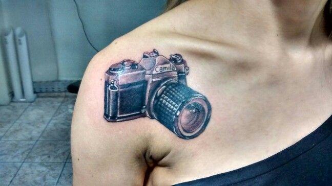 Tattoo camera fotografica