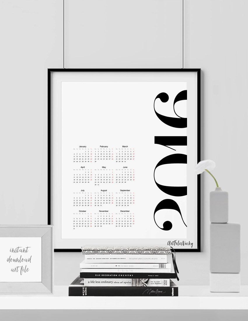 5 inexpensive printable calendars for 2016 hege in france layout