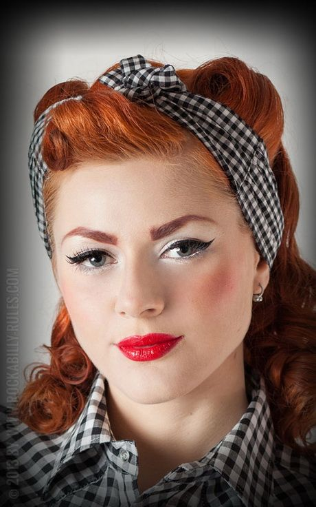 Frisuren Rockabilly Frauen Frisuren 50er Jahre Pinterest