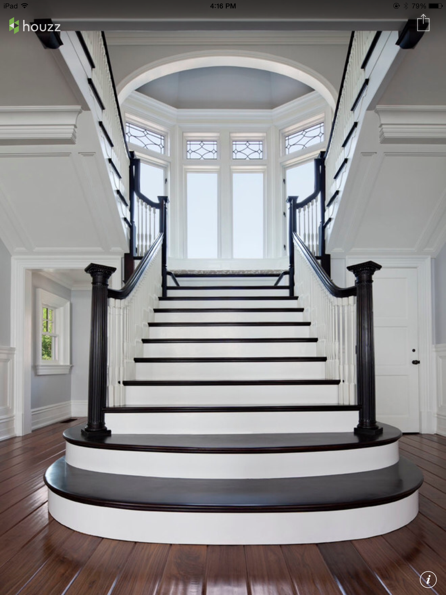 Foyer Staircase Ideas : Attractive in a cool formal way intriguing staircases