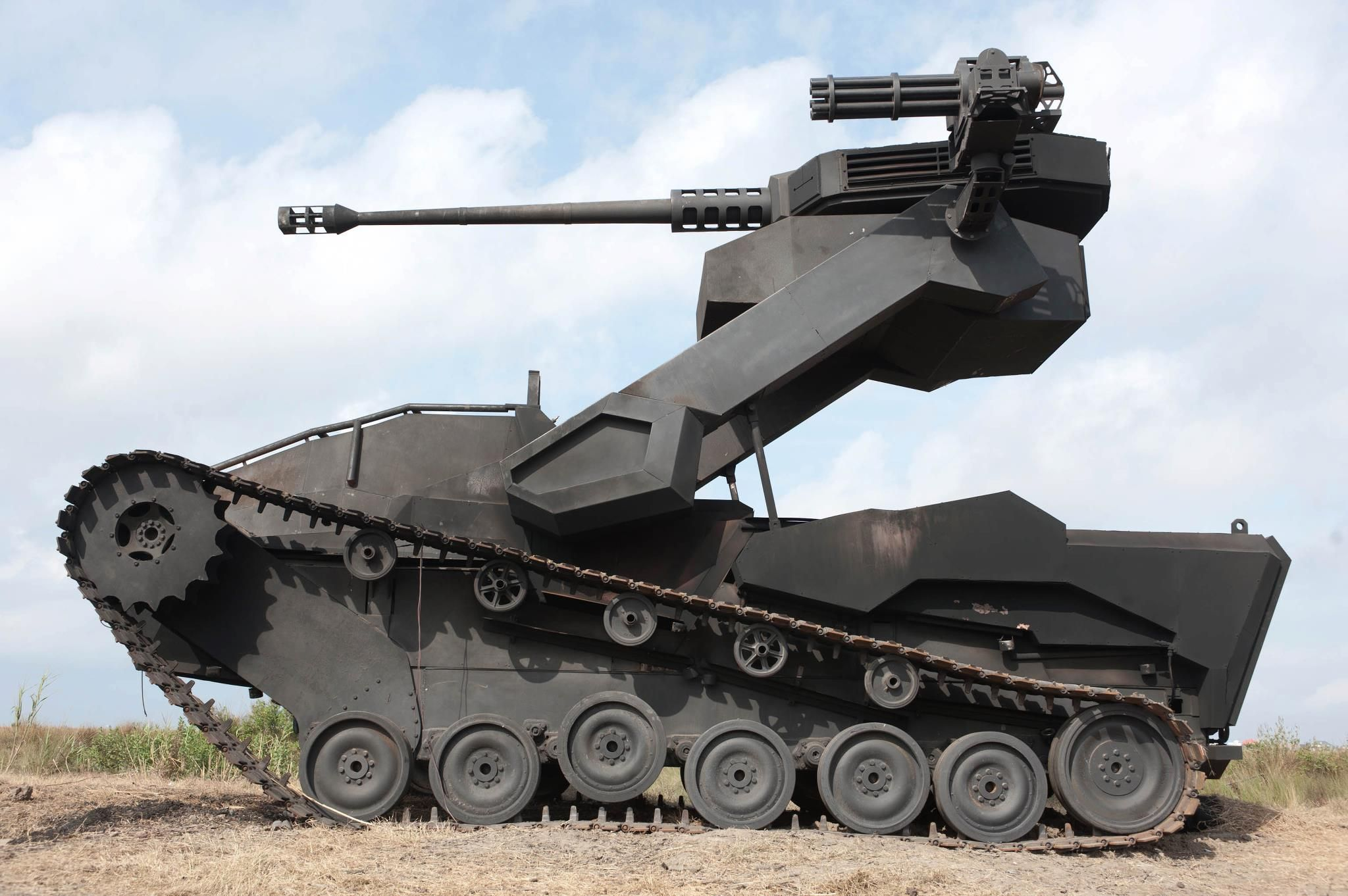tank and equipment game description Vertical stabilizer mk 1 light spall liner camouflage net fill tanks with co2  coated optics stabilizing equipment system experimental optics.