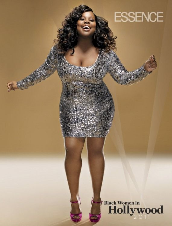Sequin plus-size party dress. | Party Party Party!!! | Amber riley ...
