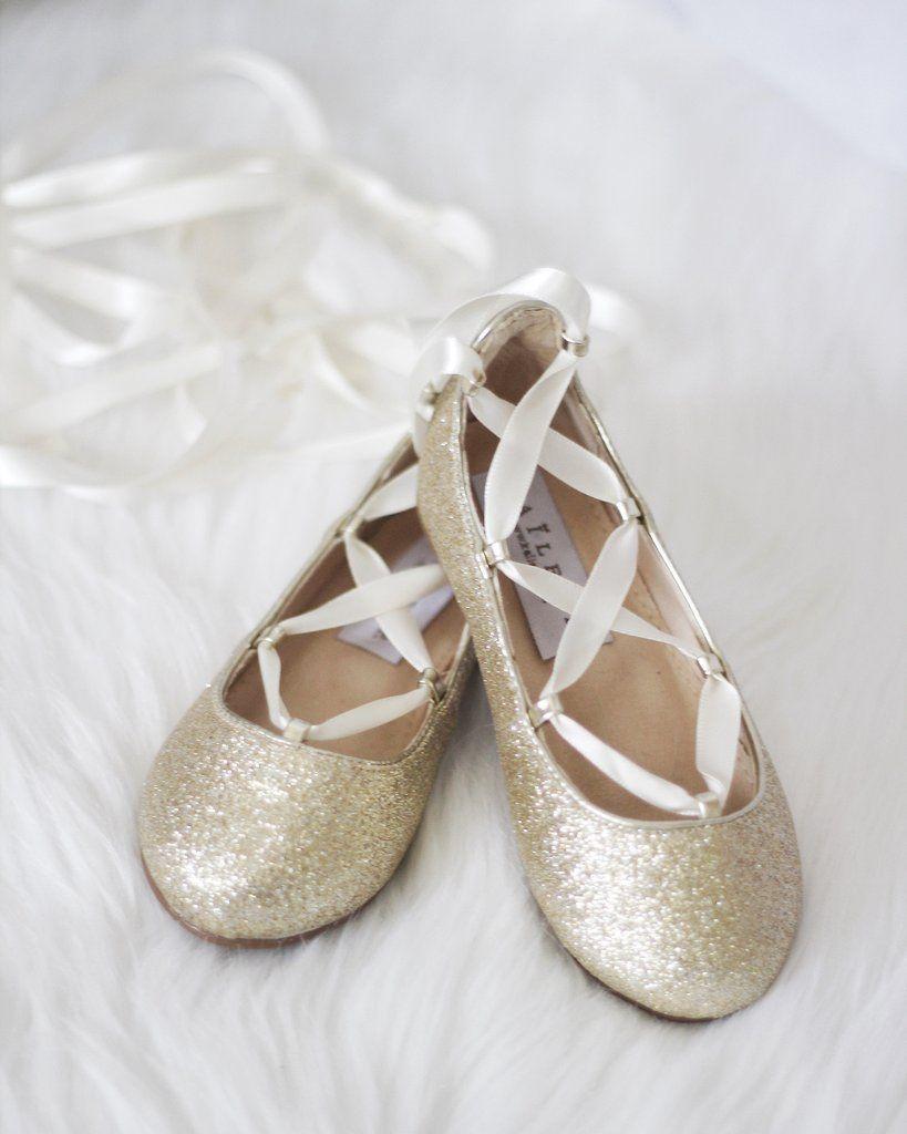 Infant \u0026 Toddler girl shoes -SOFT GOLD