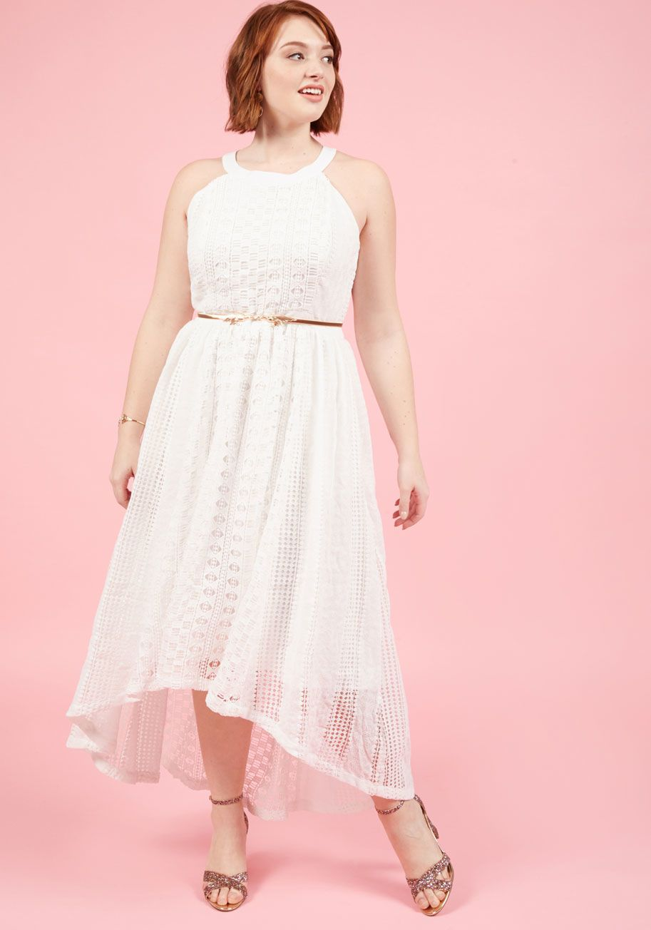 Harmonious Ceremony Maxi Dress in Ivory by ModCloth xxs-4x white ...