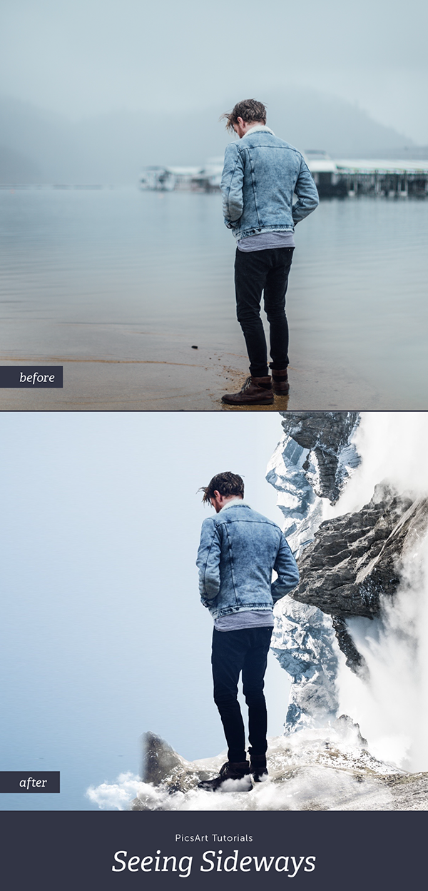 18791112 Learn how to create a surreal sideways edit! | PicsArt: Tutorials ...