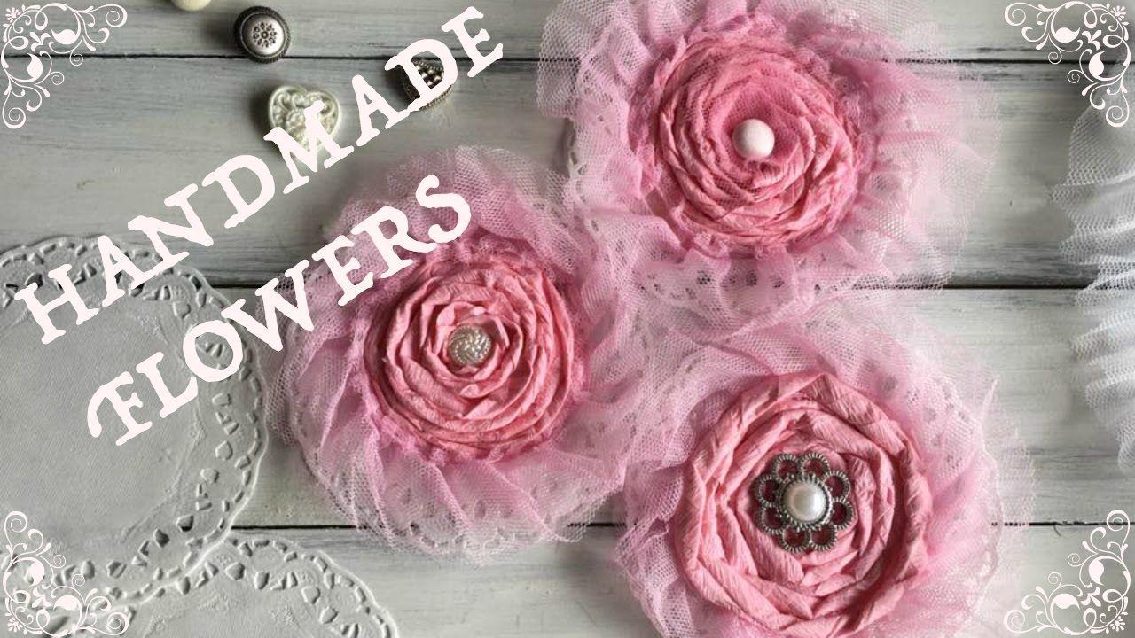 Diy How To Make Crepe Paper Flowers Svetlanka Diy Svetlanka
