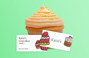Choose from our many business cards templates and make yours!