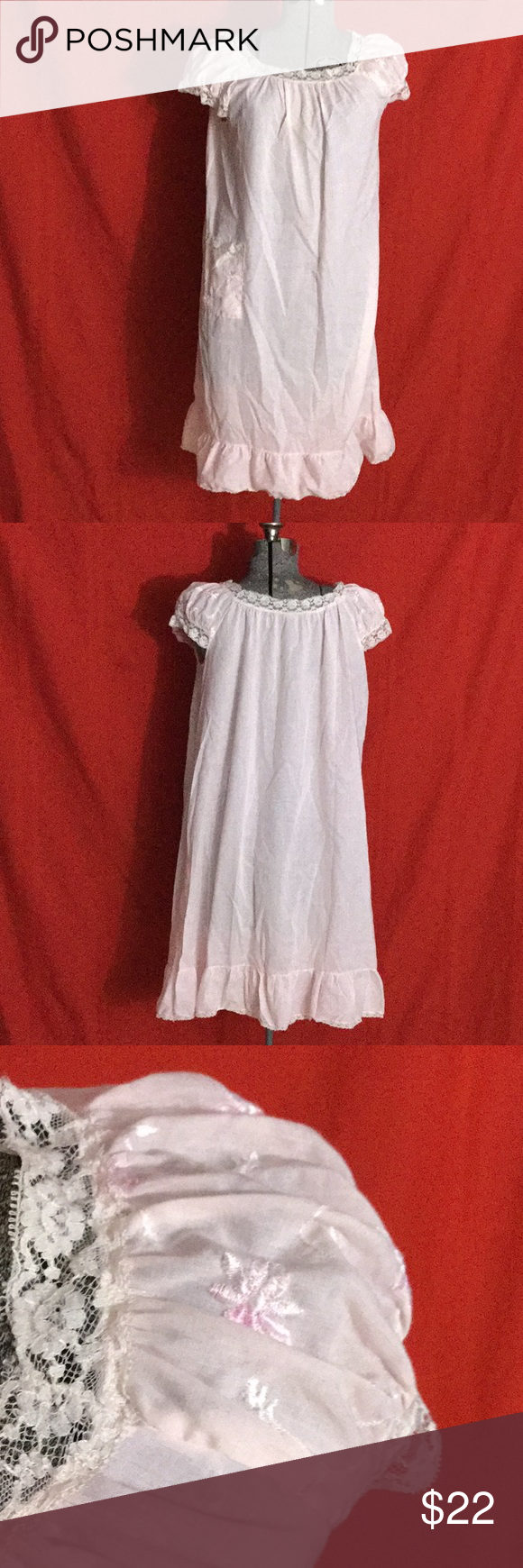 Vintage 1950s Daisy Schrank Baby Doll Nightie Baby Doll Nighties Nighty Clothes Design