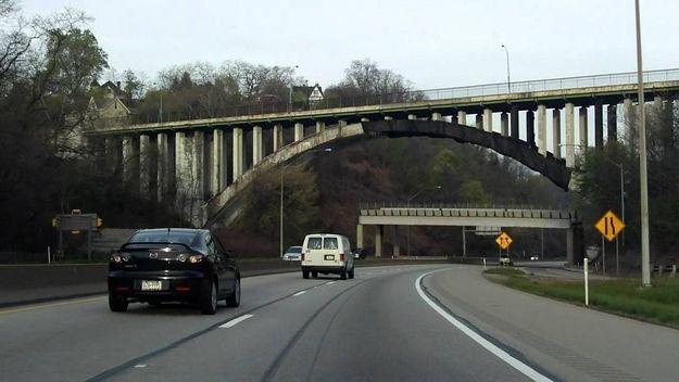 The time they built a bridge under a bridge instead of fixing the original  bridge  f0cbaa710