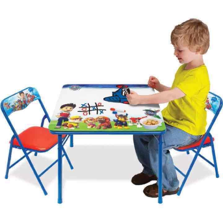 Paw Patrol Erasable Table \u0026 Chair Set - Mercari Anyone can buy \u0026 sell  sc 1 st  Pinterest & Paw Patrol Erasable Table \u0026 Chair Set - Mercari: Anyone can buy ...