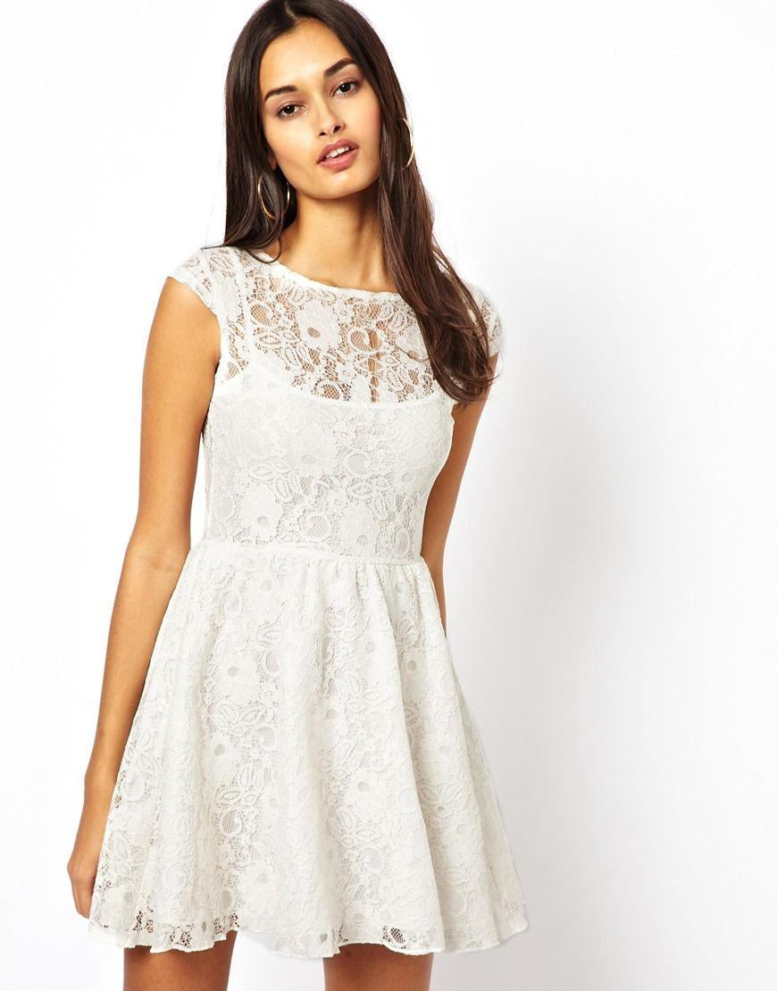 65 Motel Zee Zee Lace Skater Dress Lace Skater Dress White Lace Skater Dress Dresses [ 1110 x 870 Pixel ]