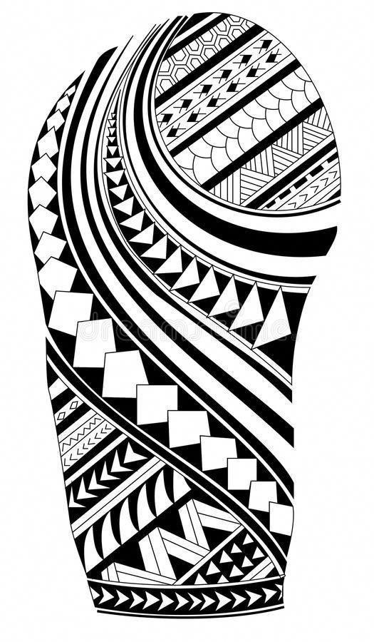 Hawaiian Tattoo Designs Polynesian Tattoo Drawing