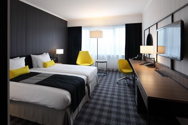 Creneau international radisson blu hotel amsterdam for Chambre airport