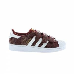 adidas superstar snake rouge