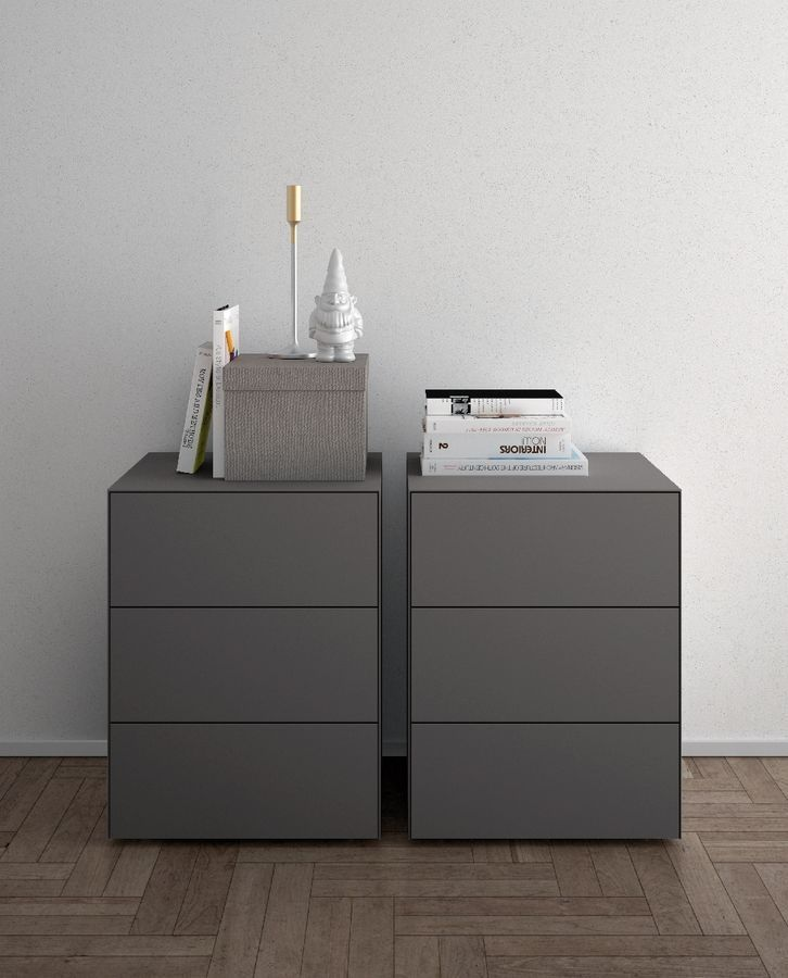 Comodini e cassettiere moderne per camera da letto cassettiere in legno moderne per alberghi tecno