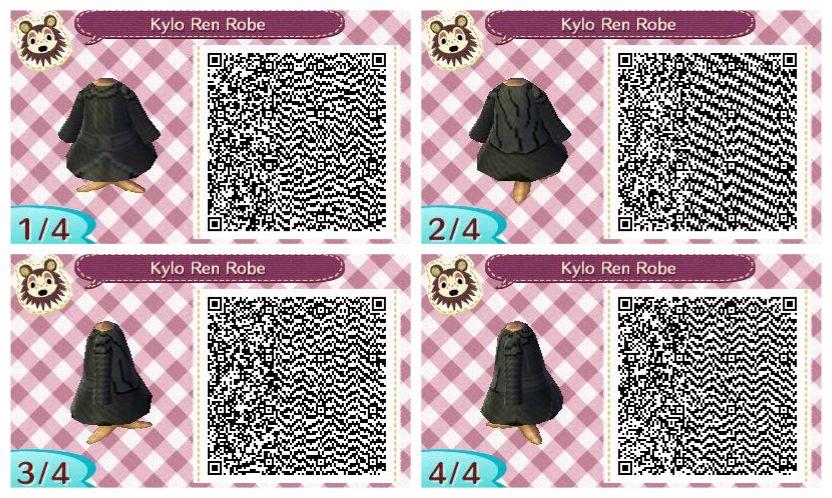 Black dress qr code games