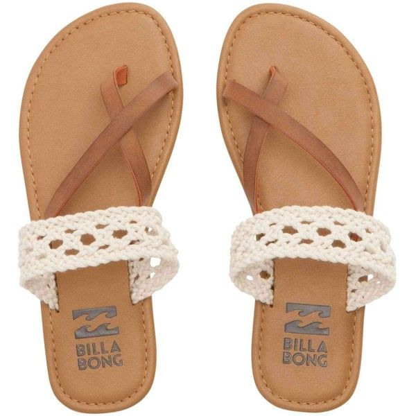 26449e6af8b Billabong Women s Sandy Shorz Sandals ( 45) ❤ liked on Polyvore featuring  shoes
