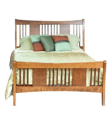 Highlands Queen Sleigh Bed (With images) | Queen sleigh ...