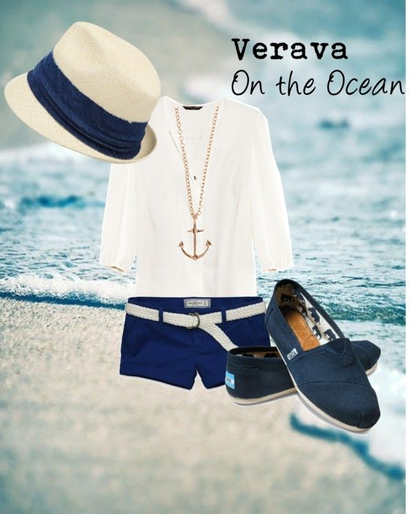 nautical theme outfit i would definitely wear this