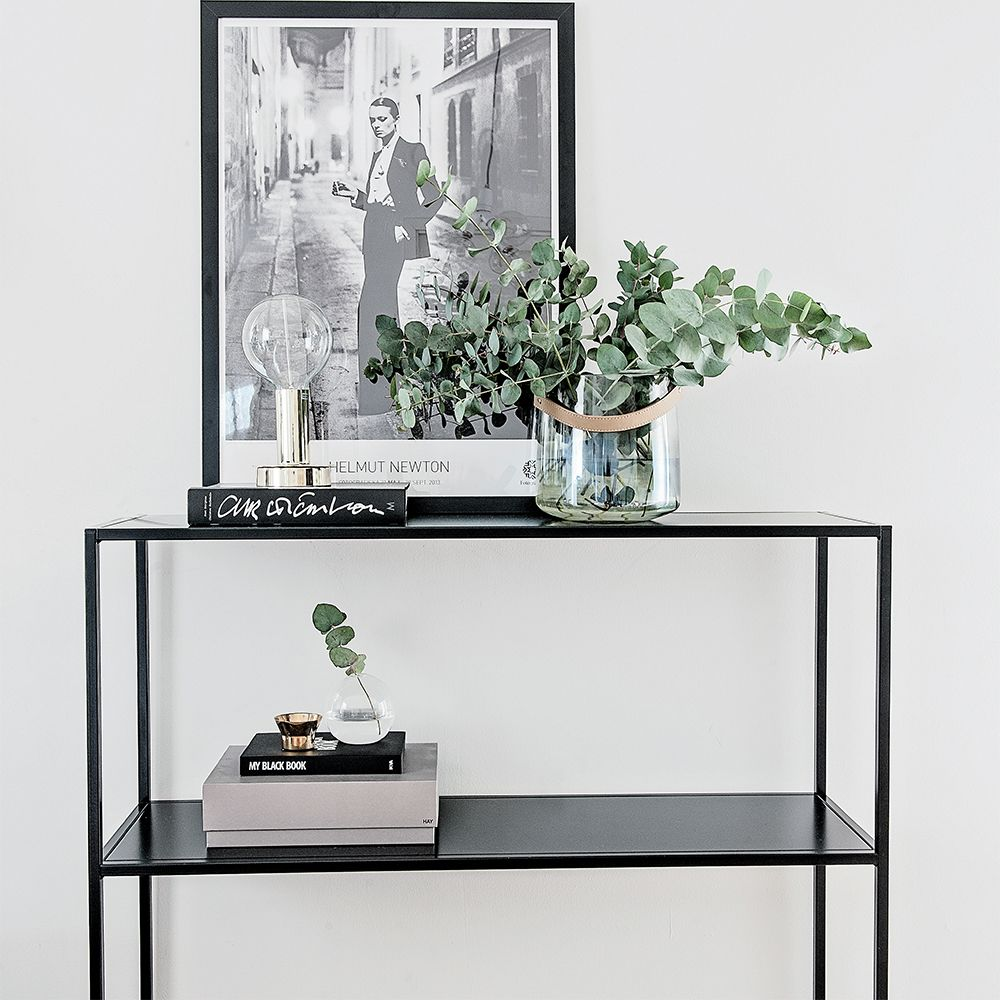 domo sideboard schwarz domo domo wohnzimmer pinterest konsole. Black Bedroom Furniture Sets. Home Design Ideas
