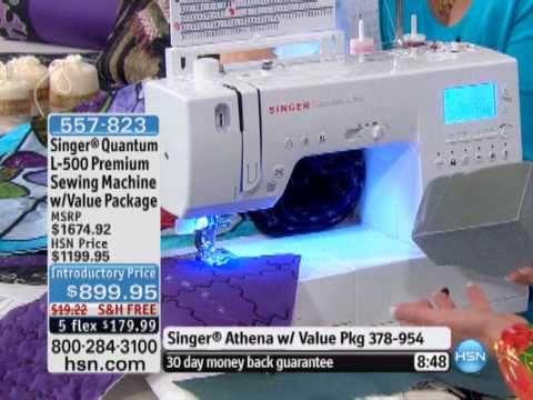 Singer Quantum L40 Premium Sewing Machine With Value P Sewing Simple Hsn Com Singer Sewing Machines