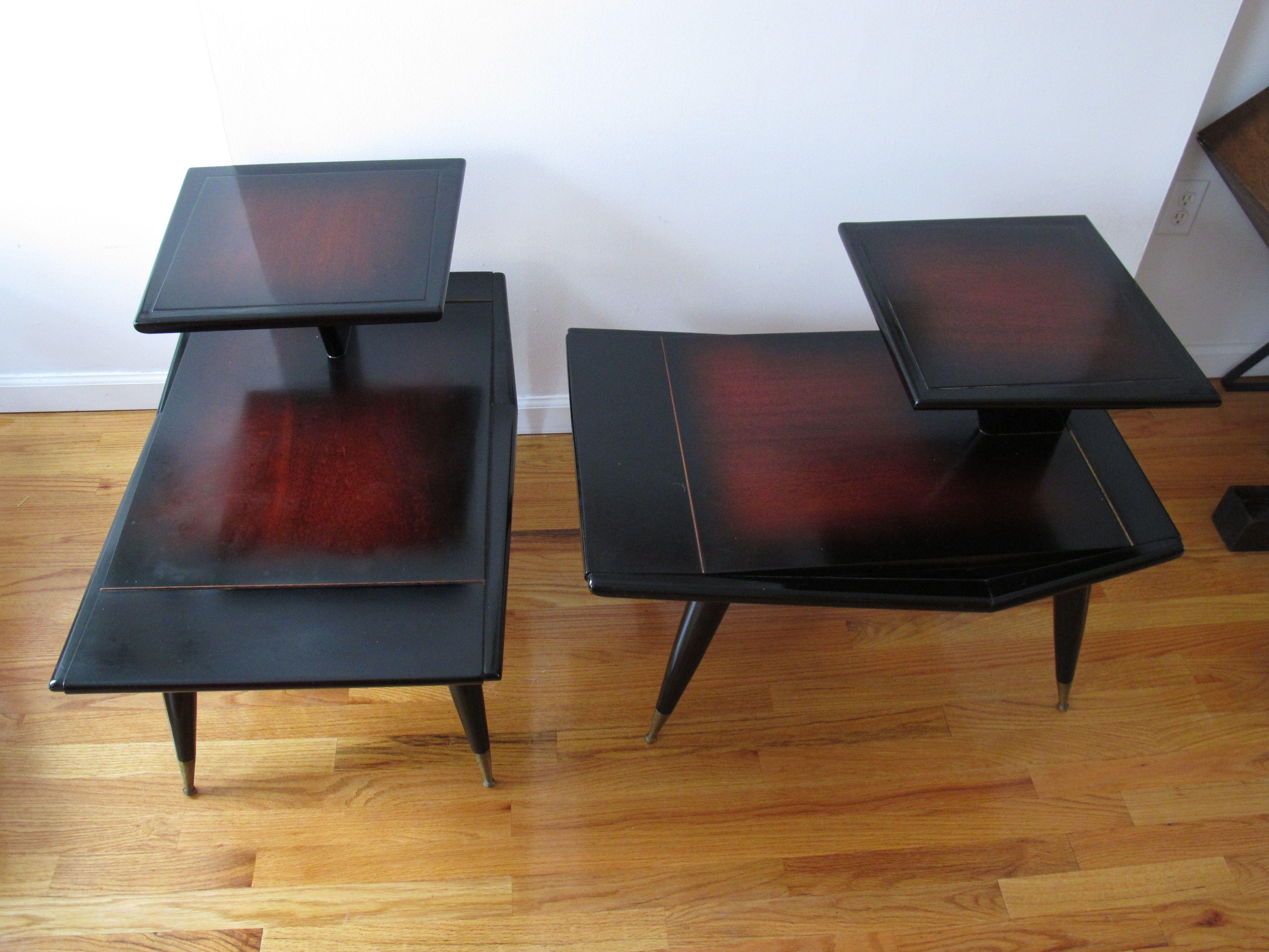 Merveilleux Gio Ponti Style End Tables By Gordonu0027s Furniture