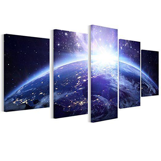 Leinwand Bilder Erde - Foto, Bild, Wandbilder fürs Wohnzimmer