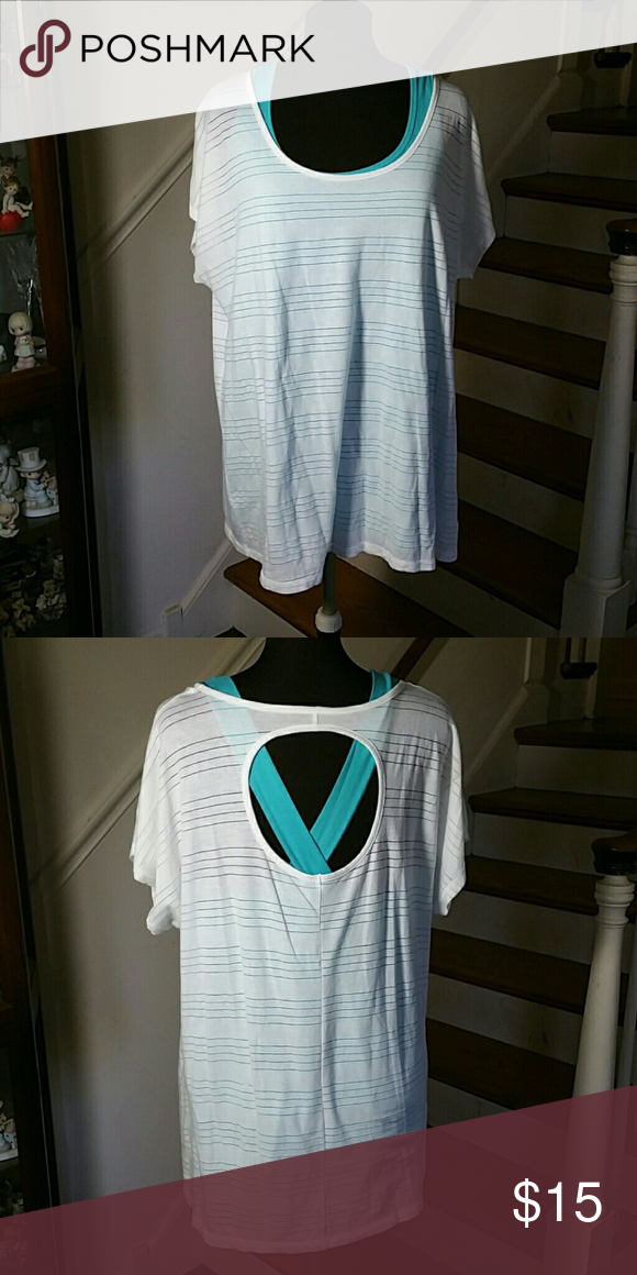 Blouse by Livi Active Blouse by Livi Active NOT PART OF SALE we are a pet and smoking home Location 1... Livi Active  Tops