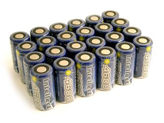 24pcs Intellect Sub C 4600mah Nimh Flat Top Rechargeable Batteries No Tabs Clearance