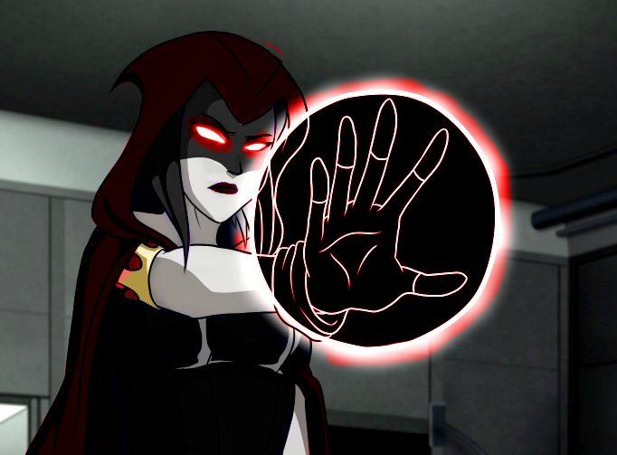 Raven Evil In Young Justice  Teen Titans  Justicia Joven -3388