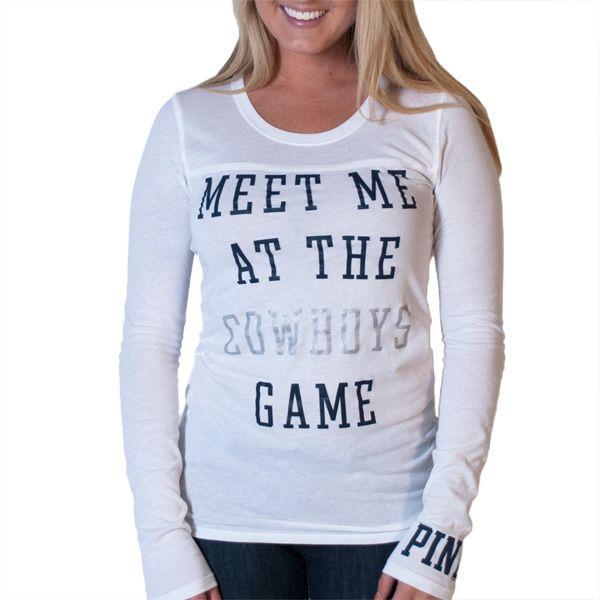 VS PINK Dallas Cowboys shirt  869256426
