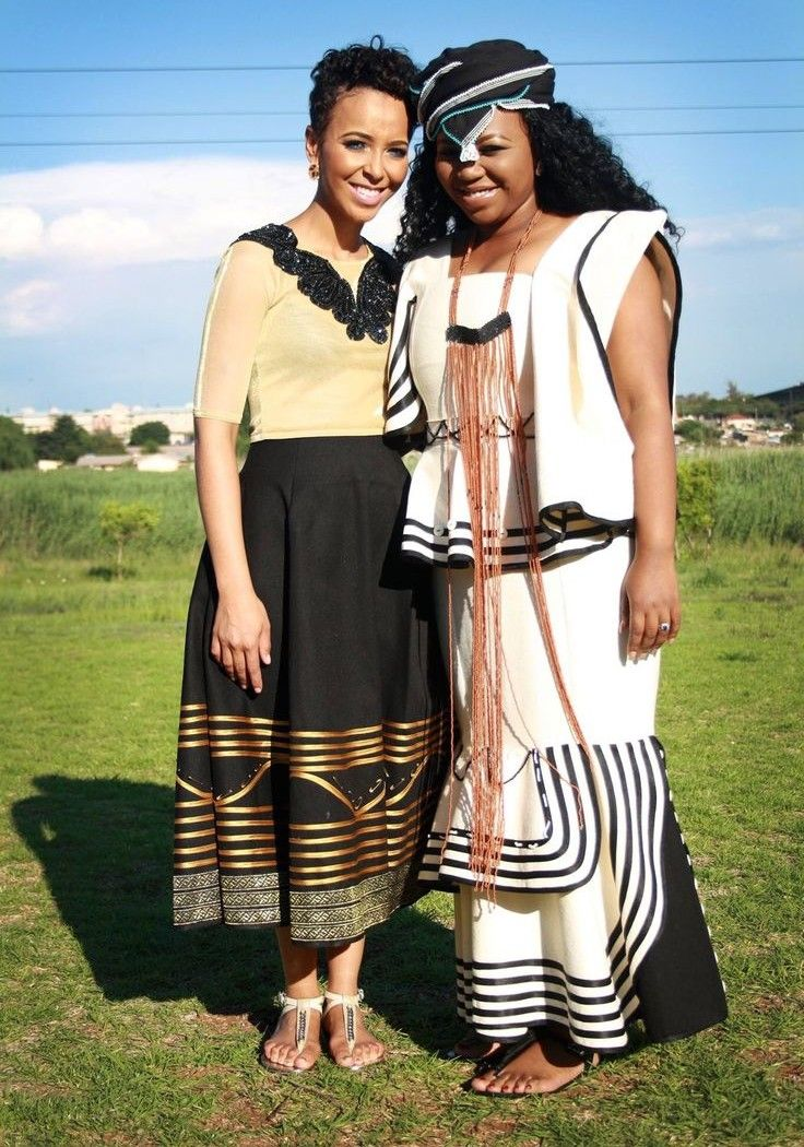 Xhosa Wedding Dresses Traditional Xhosa Dresses For The ...