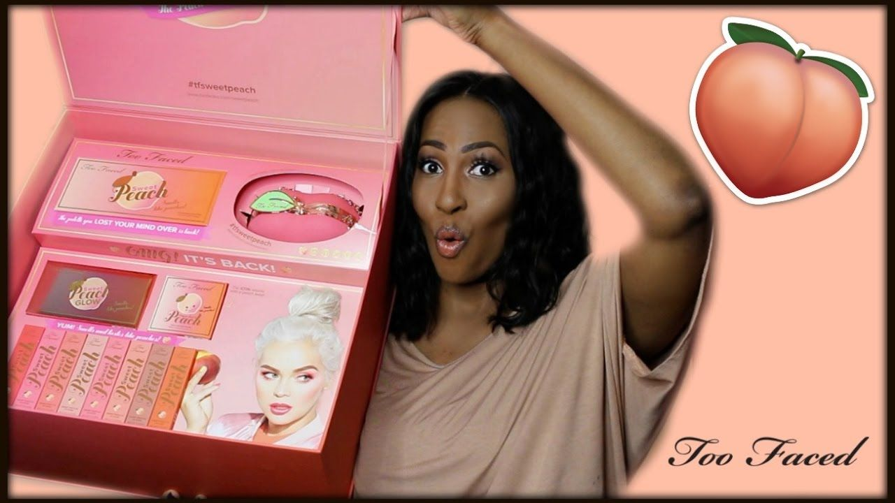 """""""NEW"""" Too Faced Sweet Peach Collection 🍑 🍑 🍑⎮Demo & Swatches"""