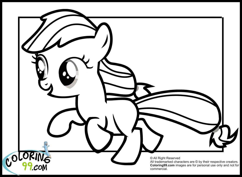 Pin oleh spetri.4kids di Coloring 4 Kids: My Little Pony