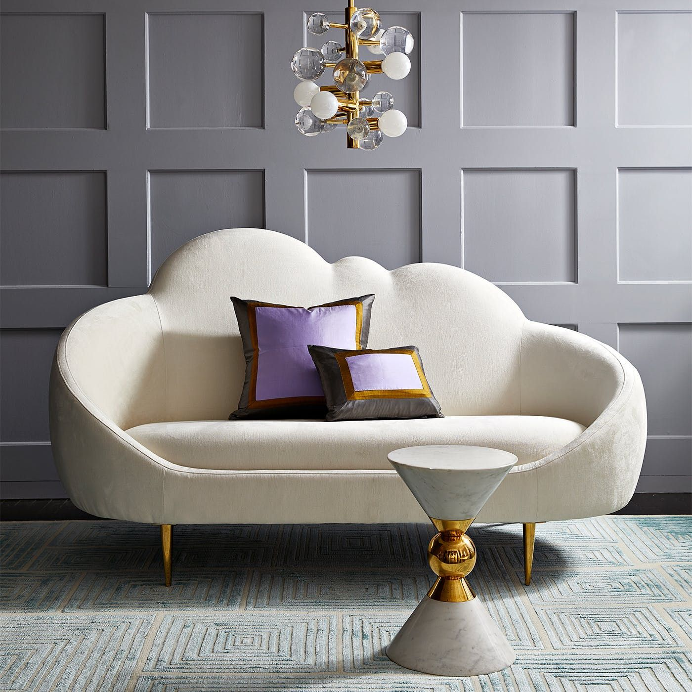 Get a look at jonathan adler 39 s spring catalog glamour for American sofa berlin