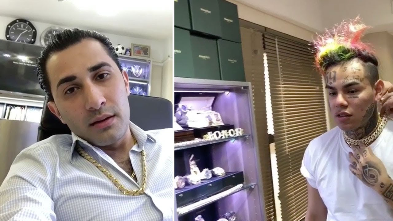 Black Celebrity Gossip All That Tekashi 69 Haters Are Happy Today Because He Just Got Exposed For Wearing Jewellery That He Didnt Pay For