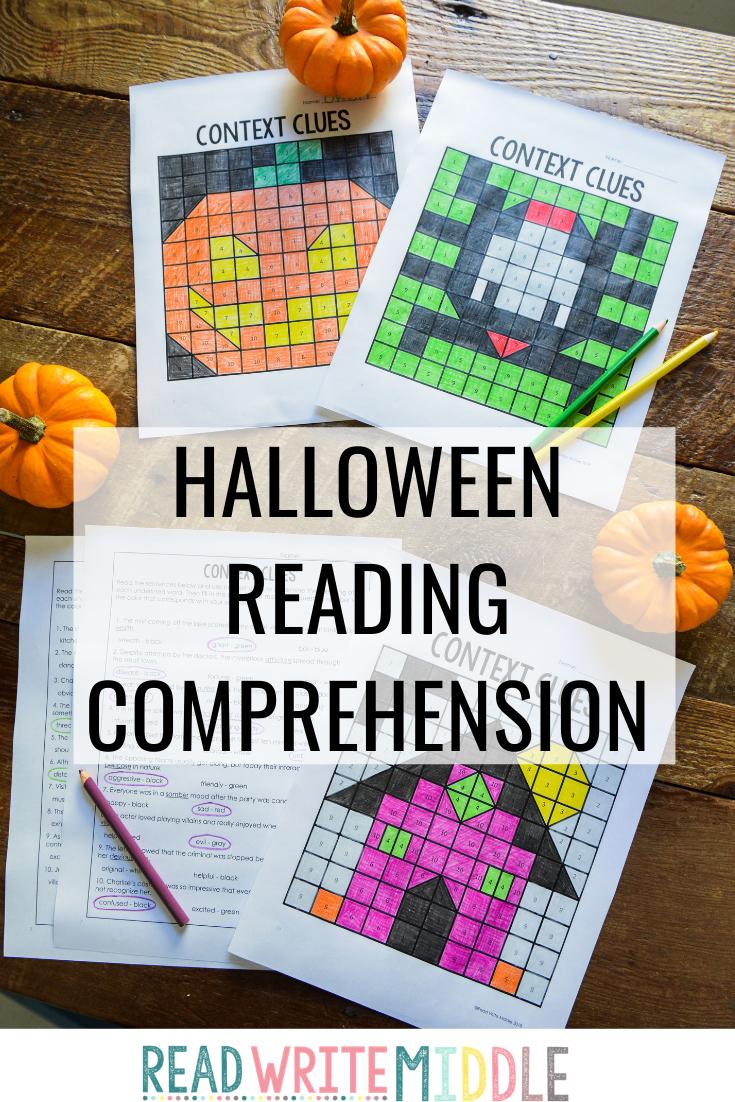 Halloween Reading Comprehension Activities Halloween Reading Comprehension Halloween Reading Reading Comprehension [ 1102 x 735 Pixel ]