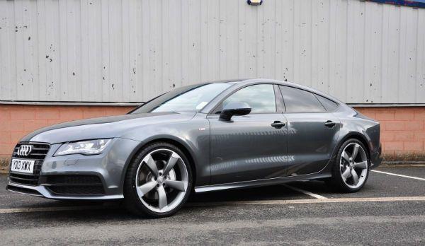 Audi A7 Black Edition Daytona Grey Audi A7 Audi