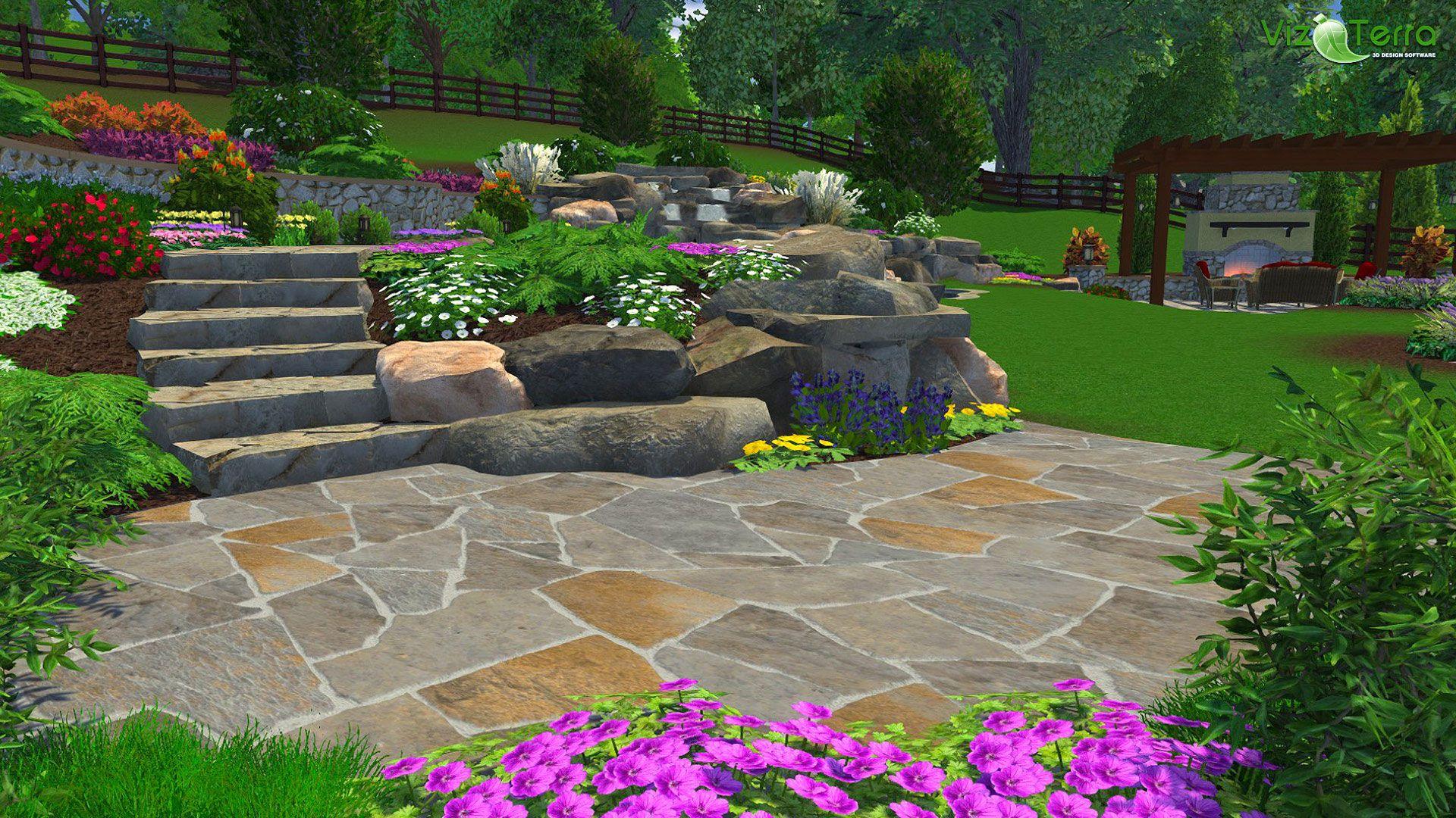 Pin By Structure Studios On Landscape Design Software Hardscape