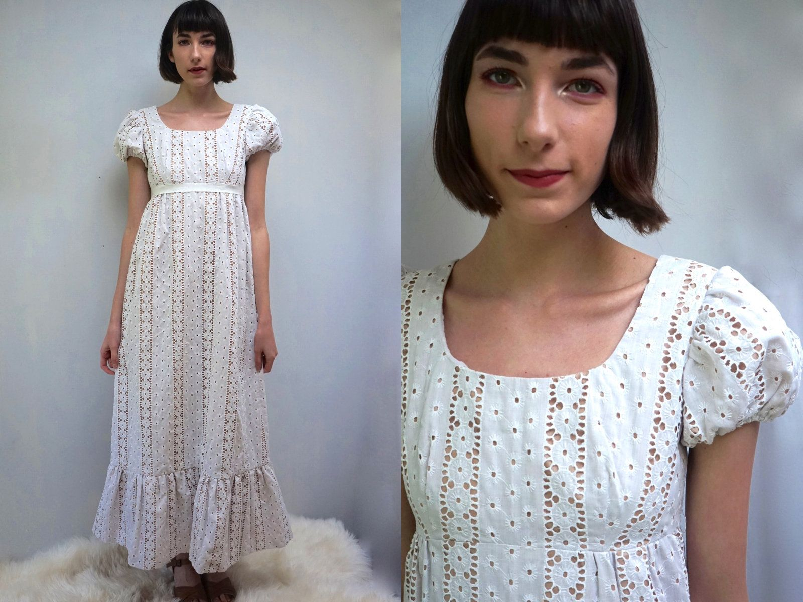 Woodland wedding dress  BOHO WEDDING DRESS s Wedding Dress Beach Wedding Dress Hippie