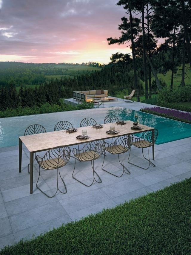 Tavoli Per Esterno Con Sedie Per Giardino O Balcone Cose Di Casa Tavoli Per Esterni Decorazioni Cortile Sedie Da Giardino