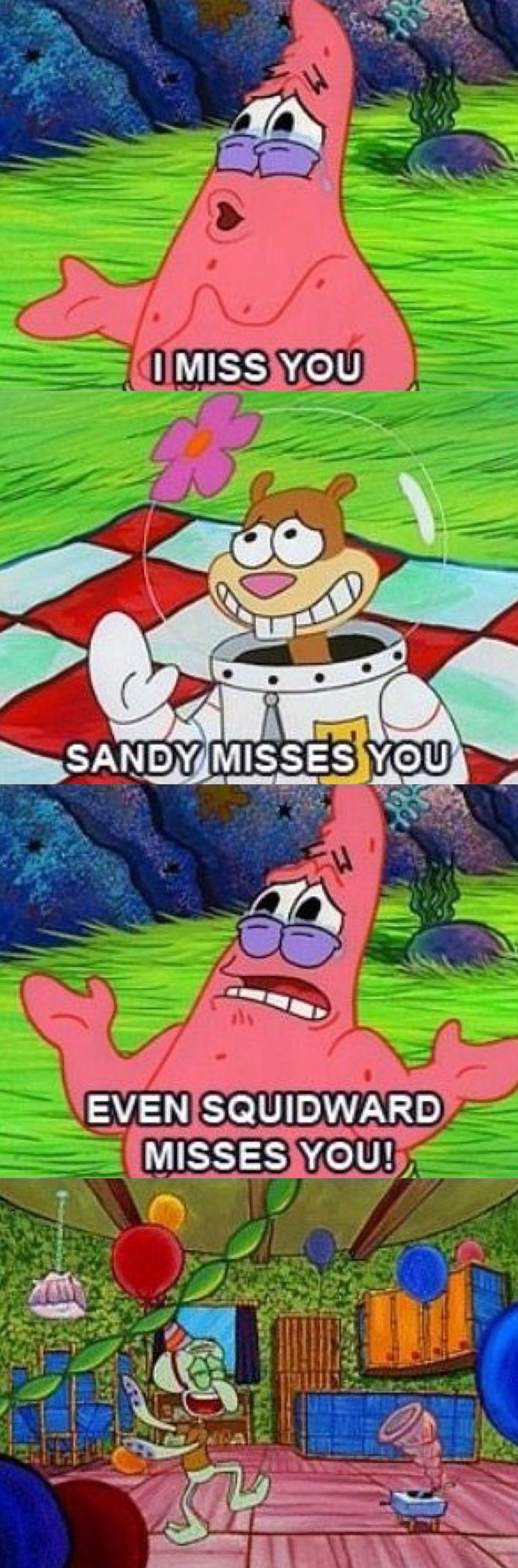 Come back spongebob