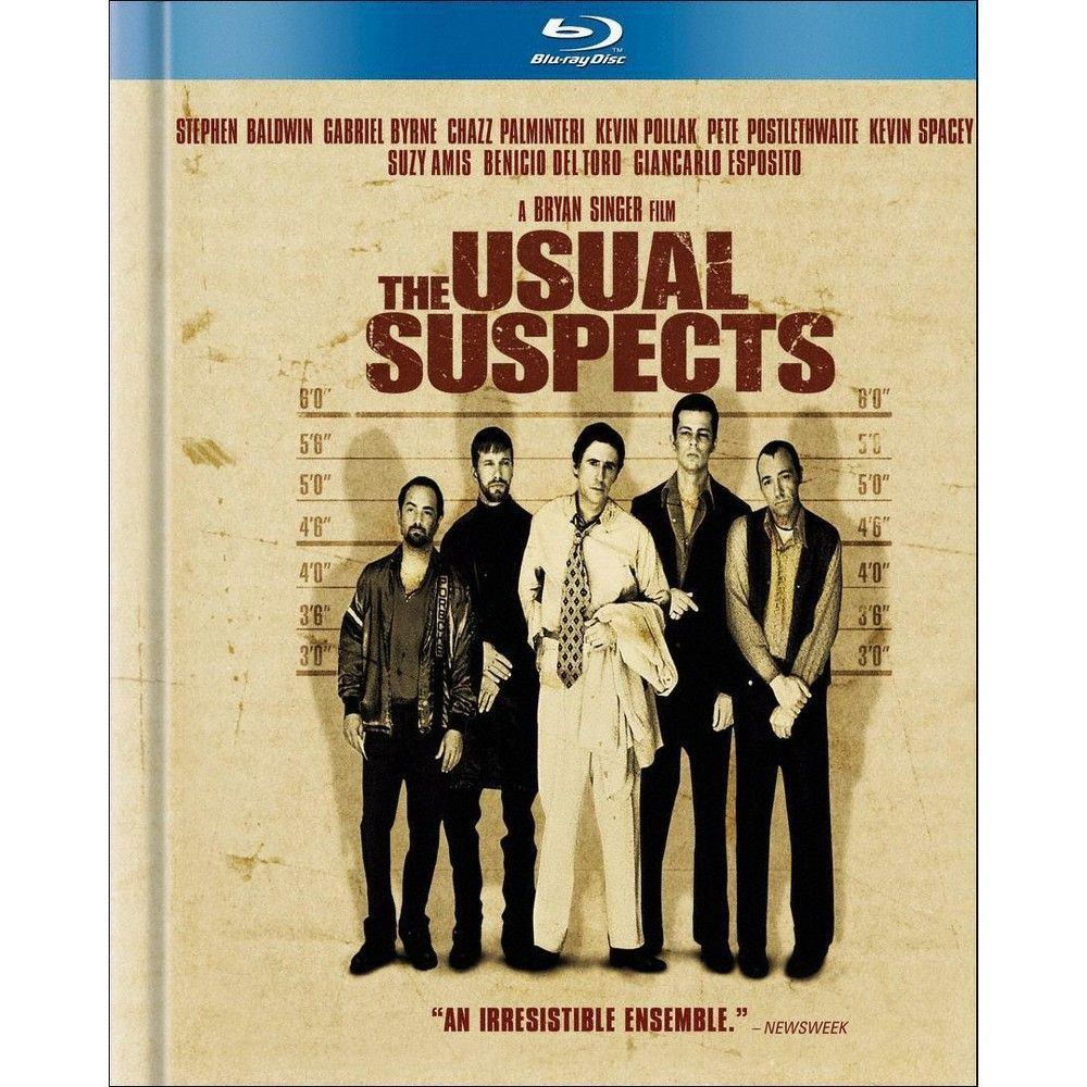 The Usual Suspects FILM MOVIE METAL TIN SIGN POSTER WALL PLAQUE