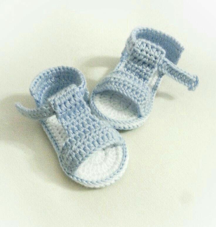 Inspiration only | Yarn Crafts | Pinterest | Babyschühchen, Baby ...