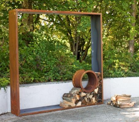 znalezione obrazy dla zapytania sichtschutz mit brennholz ciekawe pinterest sichtschutz. Black Bedroom Furniture Sets. Home Design Ideas