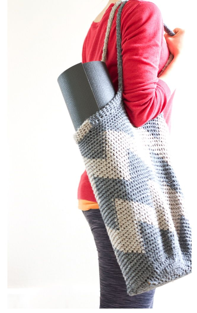 Crochet Yoga Bag Love By Yoga Hound Bolsos De